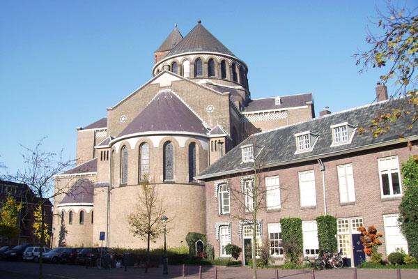 Achterzijde Sint Jacobskerk