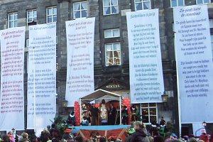 Programma Sinterklaas intocht