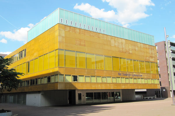 Het Stedelijk gymnasium vandaag