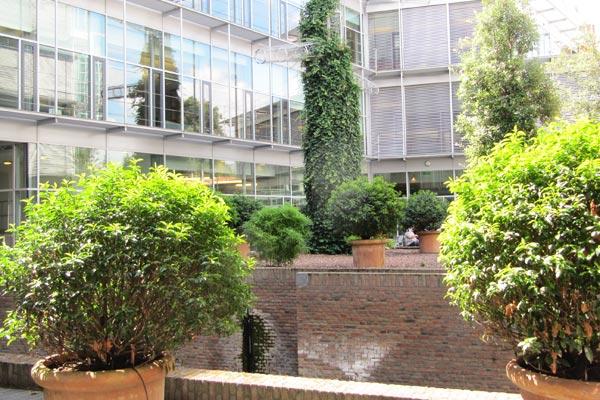 Keizershof - Binnentuin stadskantoor Den Bosch
