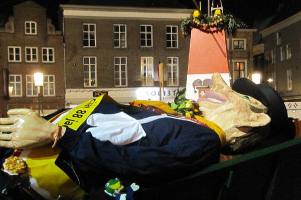 Begrafenis Knillis