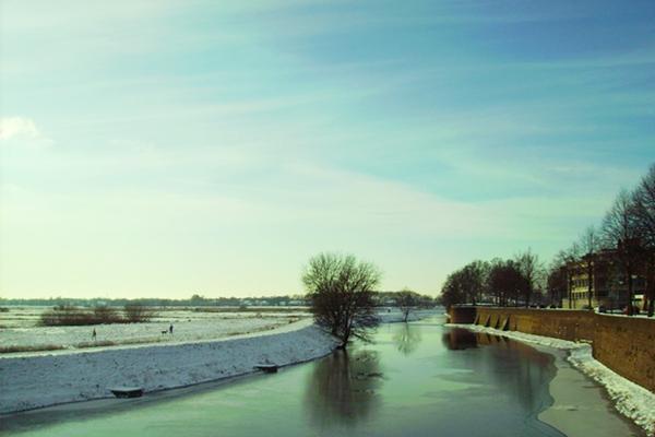 Een natuurgebied aangrezend aan Den Bosch centrum