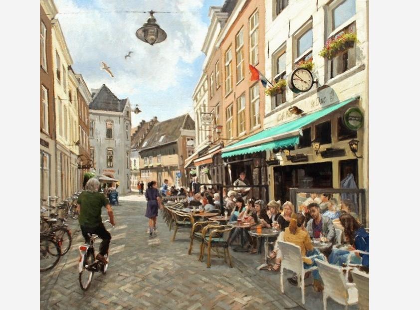 Schilderijen Den Bosch - Richard van Mensvoort
